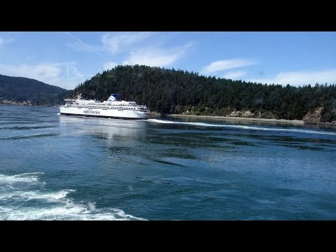 BC Ferries summer sailing: Victoria to Vancouver 2015-06-16