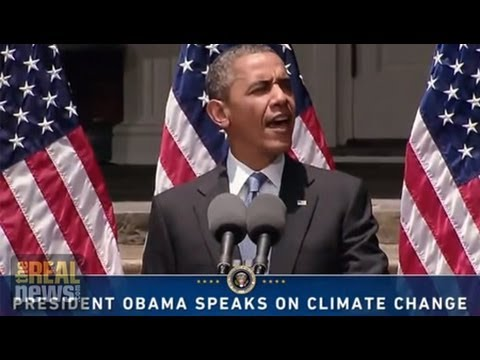 TRNN Debate: Could President Obama Be Doing More to Fight Climate Change?