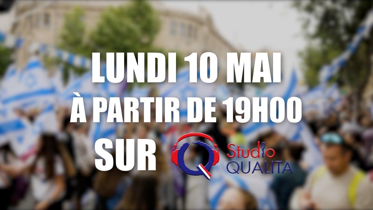 Venez fêter Yom Yeroushalim sur Studio Qualita - Lundi 10 mai à partir de 19:00