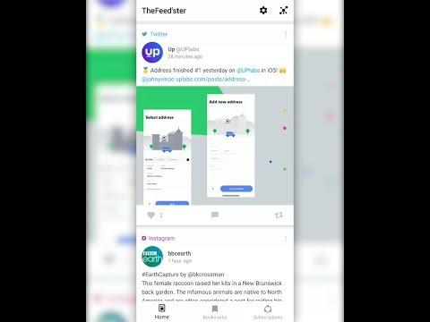 Feedster - News Feeds, Multi Social Media - Apps on Google Play