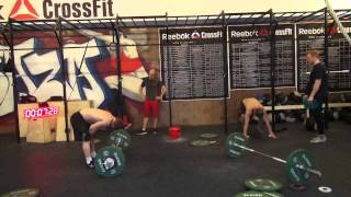 Reebok CrossFIt Open Games WOD 13.1 - Ivan F 120 (5:04) + Egor K