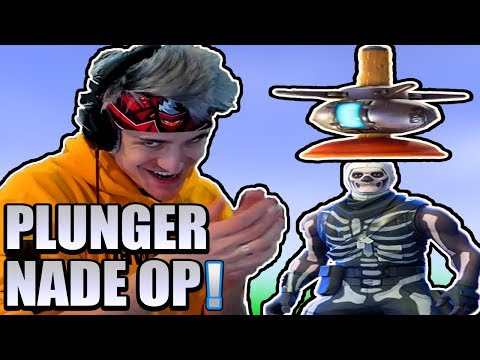 *NEW* Plunger Grenade Suicide Squad in Fortnite! DrLupo Better Than Ninja Confirmed!