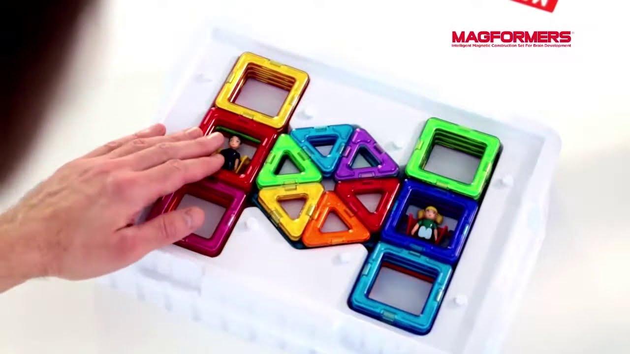Магнитный конструктор Magformers-Carnival Set, 46 эл, Магформерс .