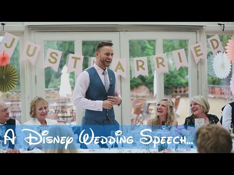 GROOM'S DISNEY SONGS WEDDING SPEECH