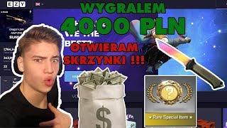 NAJLEPSZE SKRZYNKI W CS:GO !!! WYGRAŁEM 4000 PLN !!! NOWE SKRZYNKI W CS:GO