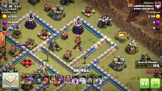 pinoy-pride-lll Vs 好運連連 (#9Q98UGQG) | TH12 War Recaps #47 | Clash Of Clans | 2019