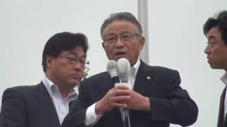 【参議院福島県選挙区】 山口信也喜多方市長 応援演説