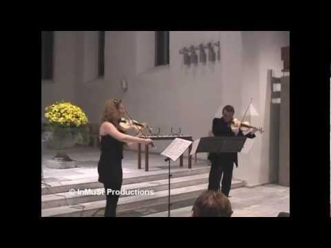 Charles Auguste de Berio (1802 -- 1870). Duo No. 2, Op. 57. 1. Moderato con spirito.mp4