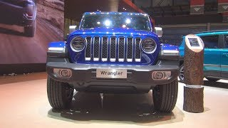 Jeep Wrangler JL Unlimited Sahara 2.0 Turbo 272 hp AT 4x4 (2019) Exterior and Interior