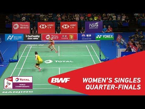 WS | Saina NEHWAL (IND) [10] vs Carolina MARIN (ESP) [7] | BWF 2018