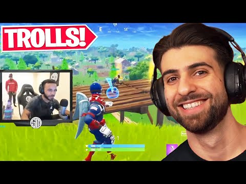 Reacting to the FUNNIEST Trolls in Fortnite History!