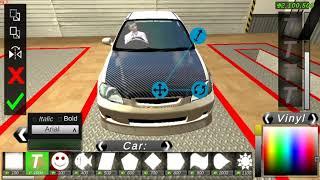 Carbon Fiber Hood Tutorial Car Parking Multiplayer