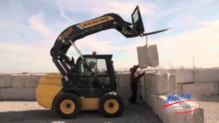 New Holland Skid Steer Loader Review: Hanson Landscaping and Global Power and Construction