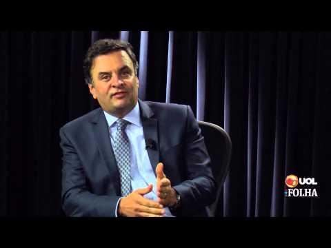 Principais trechos da entrevista com Aécio Neves