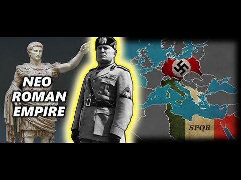 Fascist Italy's Plans For A New Roman Empire. World War II Alternate History