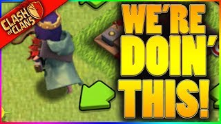 WE'RE STILL REALLY DOING THIS! ▶️ Clash of Clans ◀️ (The Event of a LIFETIME)