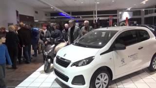Remise des prix Peugeot 108 et du Scooter aux gagnants du LOTO du Lions Club Cavaillon