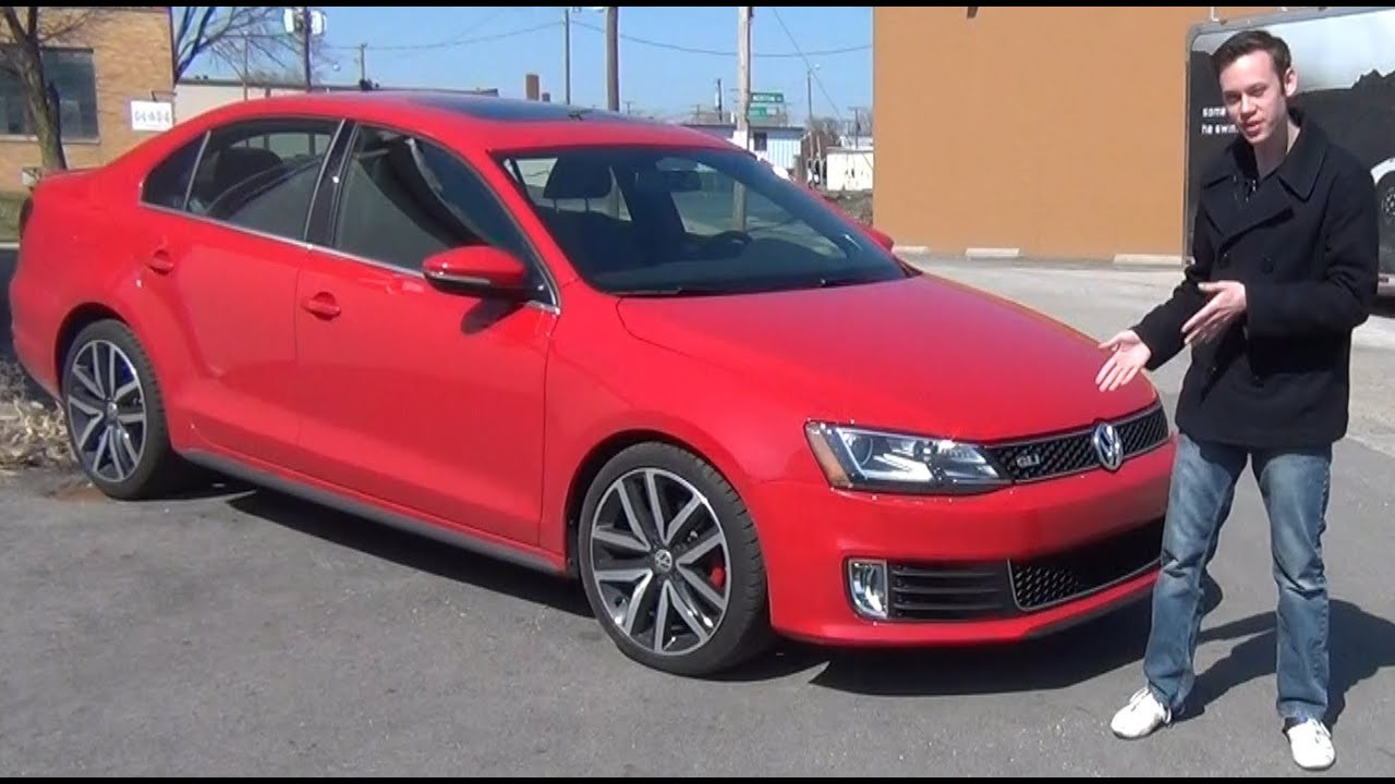 Review: 2013 VW GLI Autobahn with Navigation - YouTube