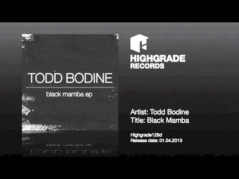 Todd Bodine - Black Mamba - Highgrade126