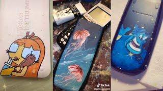 painting on calculators compilation /tiktok/