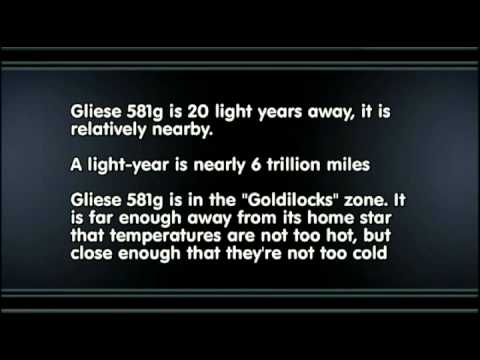 Gliese 581 G Facts