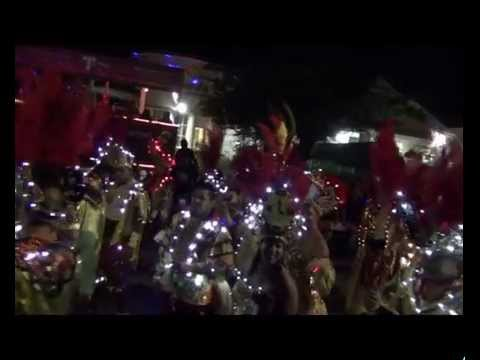 Aruba Carnaval 60 Lightning Parade 2014 Oranjestad Travel Video