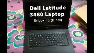Dell Latitude 3480 Laptop Unboxing (Hindi)