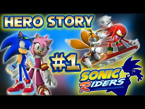 ABM: Sonic Riders!! Heroes Story!! Walkthrough # 1 HD