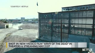 Zombie movie filmed in NM comi…