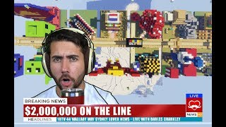 Giving $2,000,000 to the Best Minecraft Builder