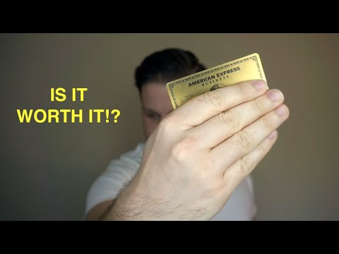 EVERYTHING TO KNOW ABOUT THE AMERICAN EXPRESS BUSINESS GOLD CARD!!