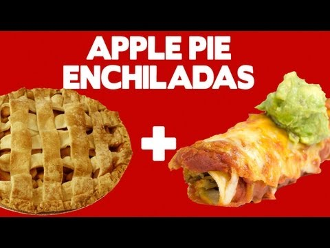 Apple Pie Enchiladas! - Food Mashups