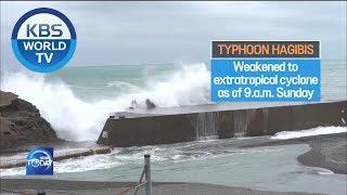 Aftermaths of Typhoon Hagibs [KBS WORLD News Today / ENG / 2019.10.14]