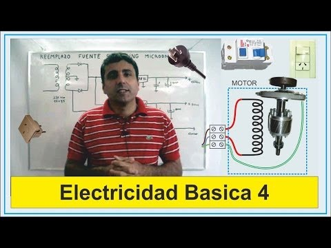 Electricidad Basica 4 (Descarga a tierra)      Basic Electricity 4 (Download grounded)