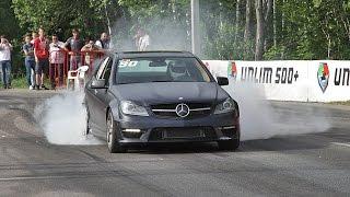 Mercedes C63 AMG vs Corvette Z06 vs BMW M5 F10 vs Mercedes ML63 AMG