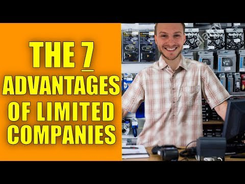 7 Key Advantages Of Having A Limited Company!!!