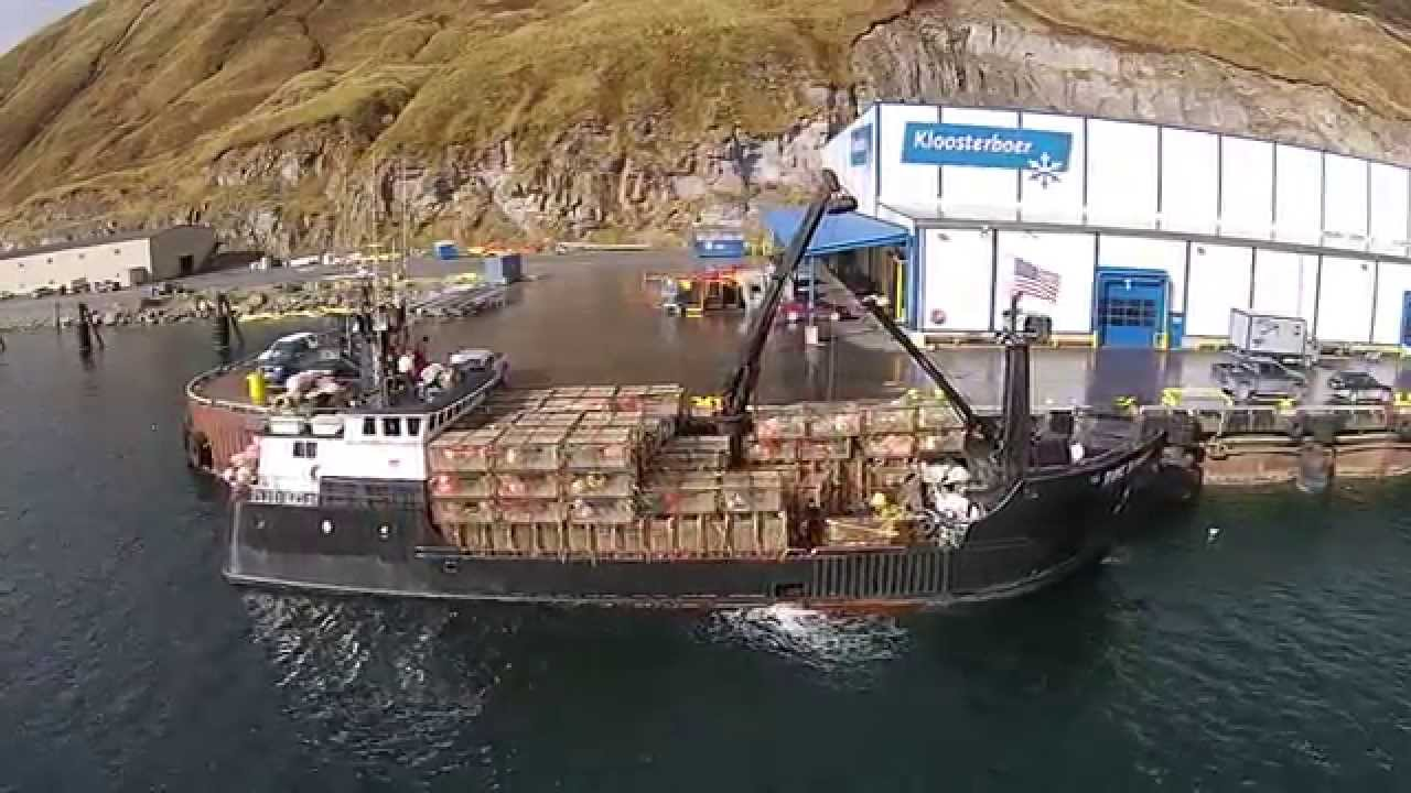 Time Bandit At The Kloosterbooer Dock Dutch Harbor Ak