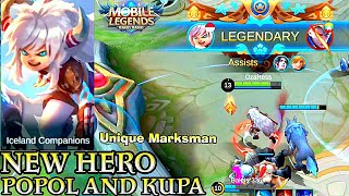 New Hero Popol And Kupa Gameplay - Mobile Legends Bang Bang