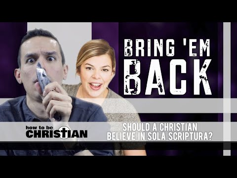 Bring 'Em Back: Allie Beth Stuckey / Should a Christian Believe in Sola Scriptura?