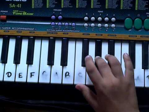 how to play national anthem of India on casio