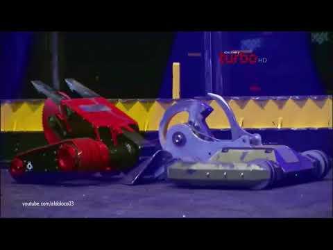 Battlebots   Red Devil Vs  Bombshell (Discovery Turbo HD)