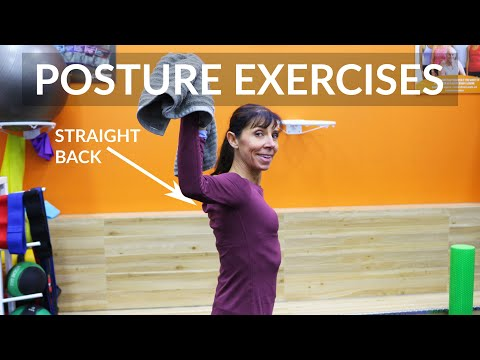 Posture Improvement Exercises to Fix Rounded Shoulders (PHYSIO ROUTINE)