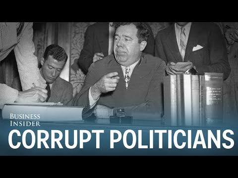 Forget Nixon — These Are The Most Corrupt US Politicians In History