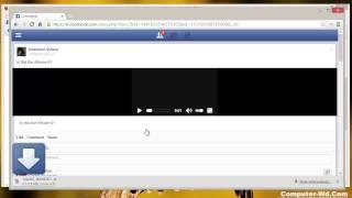 تحميل الفيديو من الفيس بوك بدون برامج بسهولة