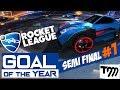 Rocket League - GOAL OF THE YEAR 2018 - SEMI FINAL #1