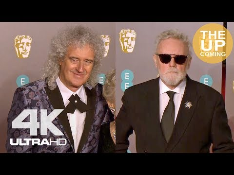 Brian May & Roger Taylor: BAFTAs Arrival, Red Carpet, Fans Meeting, Photocall For Bohemian Rhapsody