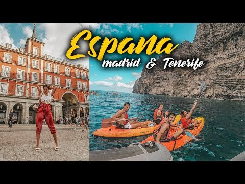 SPAIN TRAVEL VLOG - Tenerife & Madrid