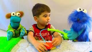 Играем в Игрушки - видео для детей Весёлое видео с Бобой Funny Kids Toys Video