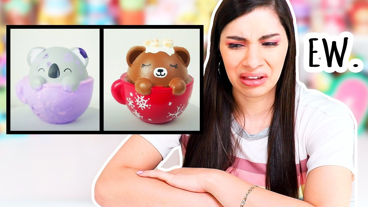 Download Reacting to My OLD Squishy Makeovers