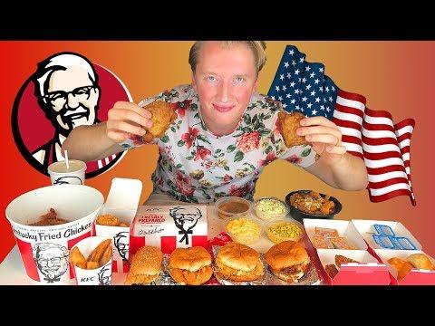 ВСЕ МЕНЮ KFC В США - ЧТО ЕДЯТ АМЕРИКАНЦЫ